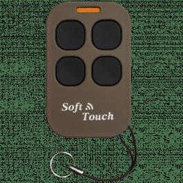Télécommande universel Soft Touch duplicateur 433.92 MHz version longue portée Marron - Creasol
