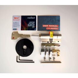Cylindre sécurisé M&C universel pour Danalock V3 - Danalock
