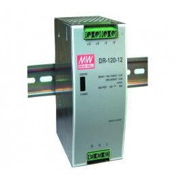 Alimentation Rail Din 12V 10A - MeanWell
