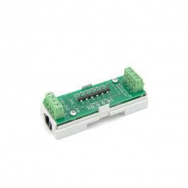 Adaptateur euFIX DIN pour Fibaro FGS-213 (sans boutons) - Eutonomy