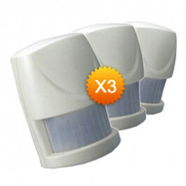 Pack de 3x Détecteur de mouvement Z-Wave HSP02 - Everspring
