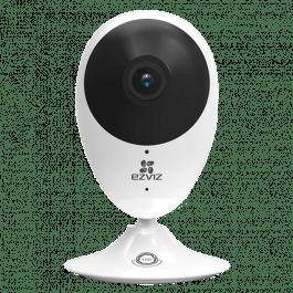 Caméra WiFi 1080p avec vision à 180° compatible Google Home et Alexa - Ezviz
