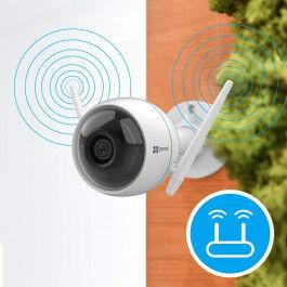 Caméra Surveillance Wifi Extérieure, Caméra ip wifi Extérieur avec 30m Vision Nocturne C3WN - EZVIZ