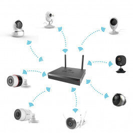 Enregistreur NVR Wi-Fi 5MP 4 voies X5S - EZVIZ