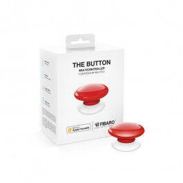Contrôleur de scènes Bluetooth compatible Apple HomeKit rouge - Fibaro