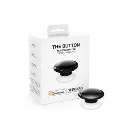 Contrôleur de scènes Bluetooth compatible Apple HomeKit noir - Fibaro