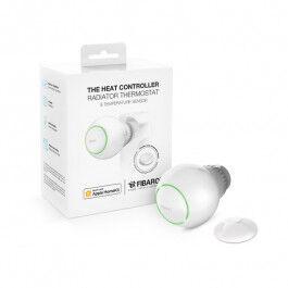 Pack tête thermostatique Bluetooth HomeKit et capteur de température - Fibaro