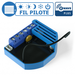 Module Fil Pilote encastrable Z-Wave Plus - QUBINO