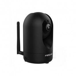 Caméra de surveillance intérieure motorisée 1080p noire - Foscam