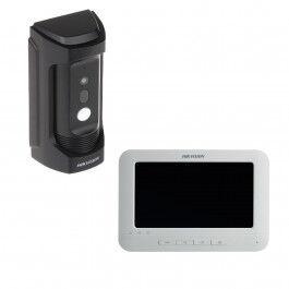 """Pack Interphone vidéo Ethernet et Écran 7"""" - Hikvision"""