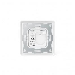 Télécommande murale blanche sans fil Z-Wave à deux boutons - HeatIt