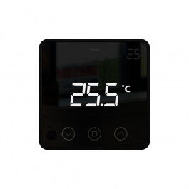 Thermostat connecté Z-Wave Temp 2 noir - HeatIt