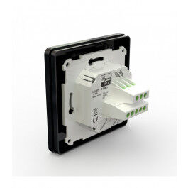 Thermostat connecté Z-Wave 16 A TRM3 noir - HeatIt