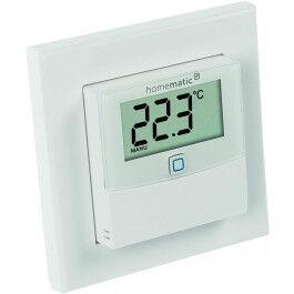Capteur de température et humidité sans fil avec écran - Homematic
