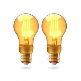 Pack de 2 Ampoules E27 à filament 2200K compatible Zigbee 3.0 - INNR