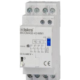 Commutateur bi-stable 32A pour Smart Meter Qubino avec contrôle infrarouge - Iskra