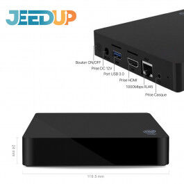 Box domotique Jeedup (Powered by Jeedom) - Wizelec