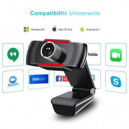 Webcam avec Microphone Full HD 1080p connexion USB - Joyaccess