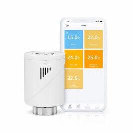 Vanne thermostatique connectée 433 Mhz pour radiateur -  Meross
