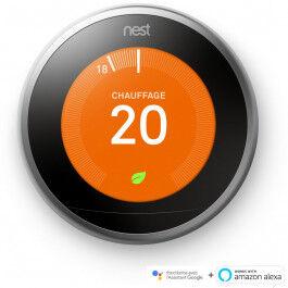 Thermostat connecté 3ème génération - Nest