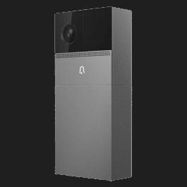 Portier vidéo WIFI sur batterie ou secteur avec sonnette compatible Google Home et Alexa - Nivian