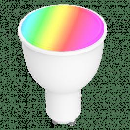 Ampoule GU10 connectée WiFi RGB compatible Google Home et Alexa - Nivian