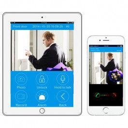 [PRODUIT-D-OCCASION] Portier vidéo WiFi ou Ethernet avec synthèse vocale en français - KONX