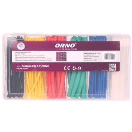 Lot de 100 gaine thermoretractable 5 couleurs  - Orno