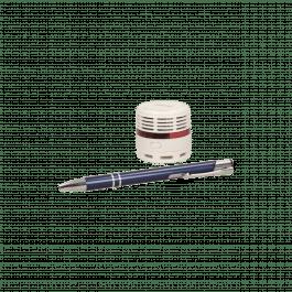 Mini détecteur de fumée design avec pile lithium - Orno