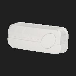 Bouton pour sonnette avec voyant lumineux et protection IP44 - Orno