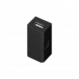 Module remplaçable USB noir pour bloc prise GM-9011 - Orno