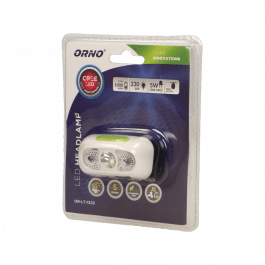 Lampe frontale rechargeable 5 modes - Orno