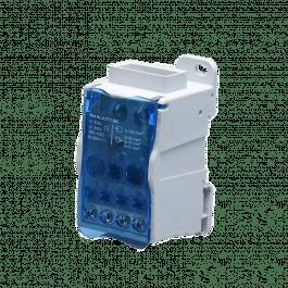 Bornier de répartition 500A et 11 connexions - Orno