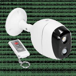 Mini alarme sans fil avec détecteur de mouvement PIR, sirène et télécommande - ORNO