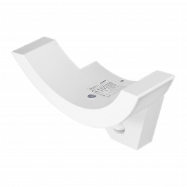 Lampe led de jardin 10W IP54 avec détecteur de mouvement couleur blanc - Orno