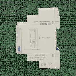 Programmateur digital 16A avec menu de configuration - Orno