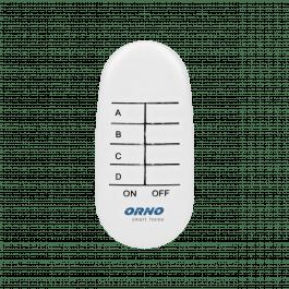 Télécommande 4 canaux sans fil pour prises Orno Smart Home - Orno
