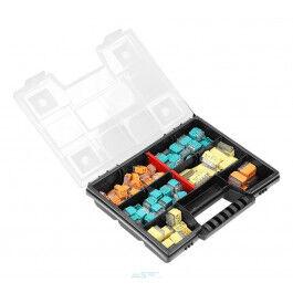 Assortiment de bornes rapides pour connexions électriques (123 pcs) - Orno