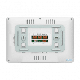 Moniteur pour système Vibell avec fonctions multimédia et DVR version blanc - Vibell