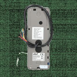 Kit Interphone 7 pouces avec écran, lecteur de badge et digicode version noir - Vibell