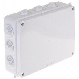 Boîte de dérivation avec presse-étoupes 255 X 200 X 77mm IP65