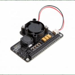 Adaptateur PoE HAT avec ventilateur pour alimentation Ethernet sur Raspberry Pi 4 et 3B+ - RASPBERRY