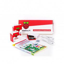 Kit de démarrage Desktop Raspberry Pi 4 version 8 GO avec boîtier, clavier, souris - RASPBERRY