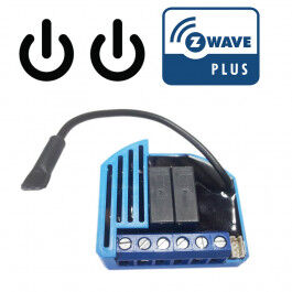 [RECONDITIONNE] Module 2 relais Z-Wave Plus encastrable - QUBINO