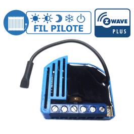 [RECONDITIONNE] Module Fil Pilote encastrable Z-Wave Plus - QUBINO
