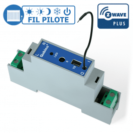 [RECONDITIONNÉ] Module rail DIN Fil Pilote Z-Wave Plus - Qubino
