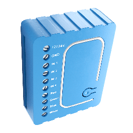 [RECONDITIONNÉ] Module contrôleur de LED multicolores RGBW Z-Wave Plus encastrable - Qubino