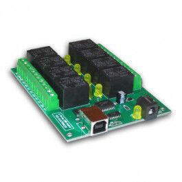 Carte 8 relais sur port USB