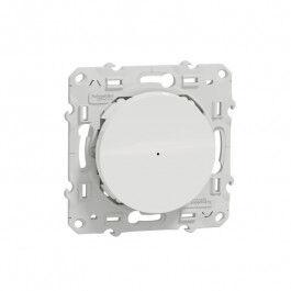 Variateur poussoir pour éclairage Zigbee 3.0 Wiser Odace Blanc - SCHNEIDER ELECTRIC