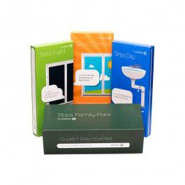 Pack de 3 capteurs Sensative : Ouverture, Fuite, Température et Luminosité - Sensative